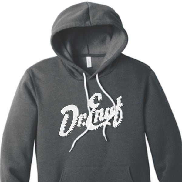 Dr. Enuf Heather Grey Hoodie