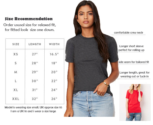 mama feelsgood womens graphic short sleeve sizing chart