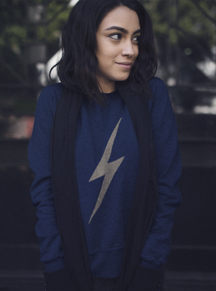 lightening flash sweatshirt, mama feelsgood