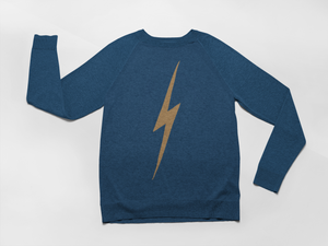 mama feelsgood gold flash sweatshirt