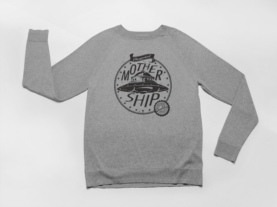 cosy handprinted raglan womens sweatshirt, mama feelsgood