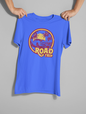 Road Trip 70s style graphic tee