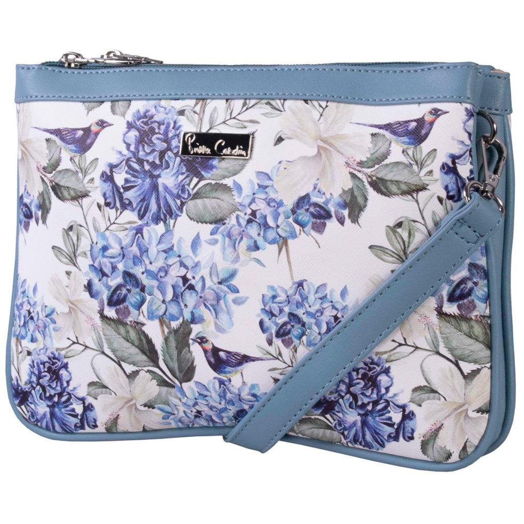Pierre Cardin Blue Floral over the body bag