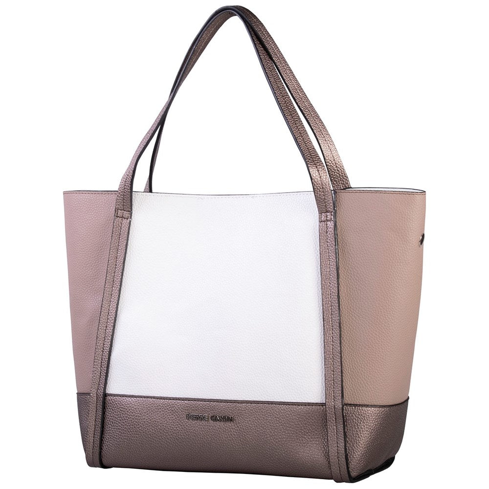 Pierre Cardin Bronze colour block tote