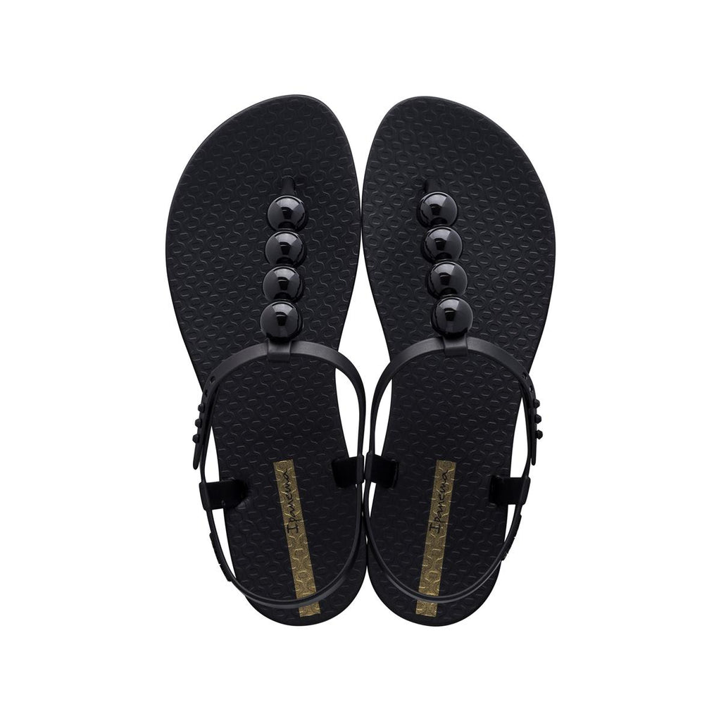 Ipanema Ball Trimmed Sandal - Black