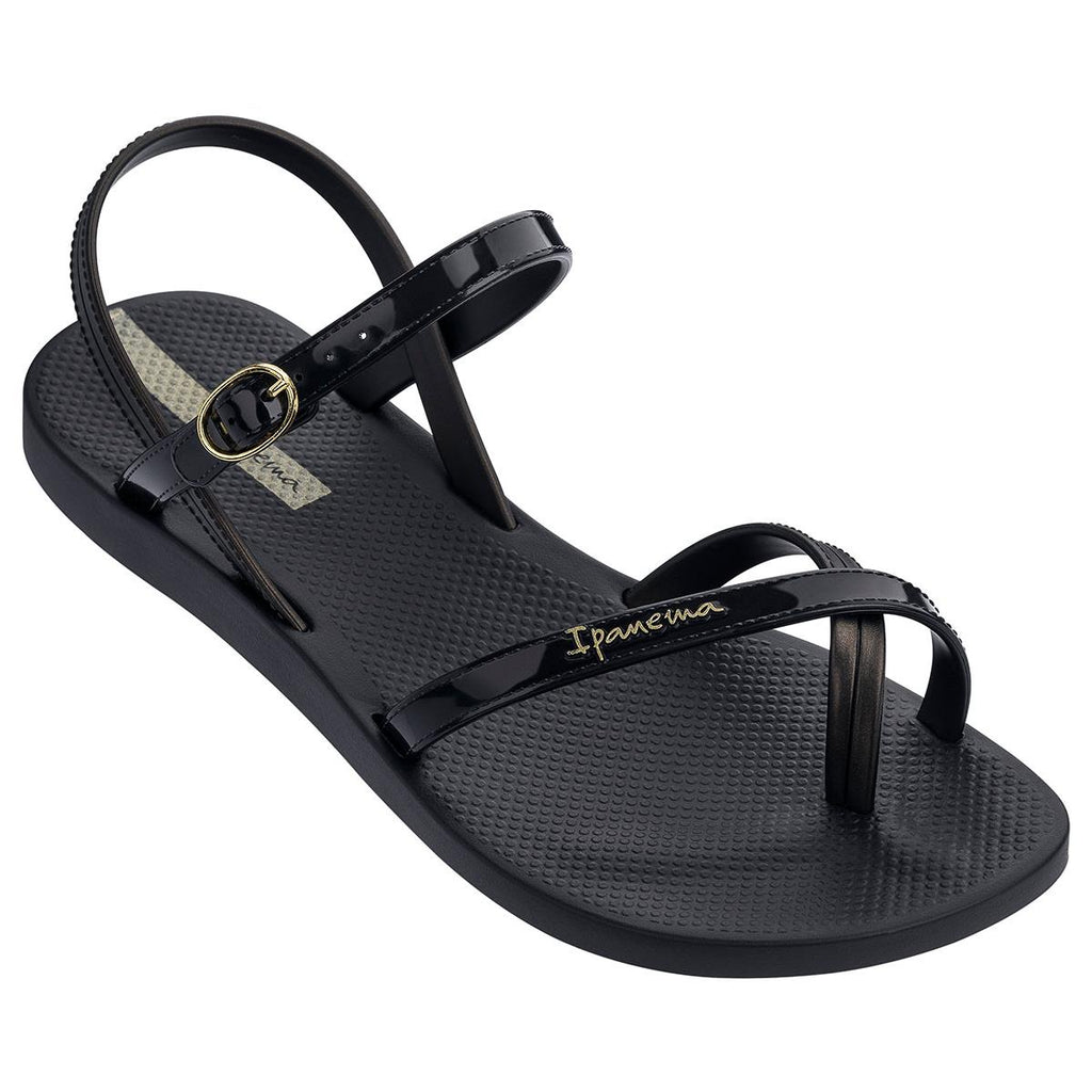 Ipanema Toe Post Sandal - Black