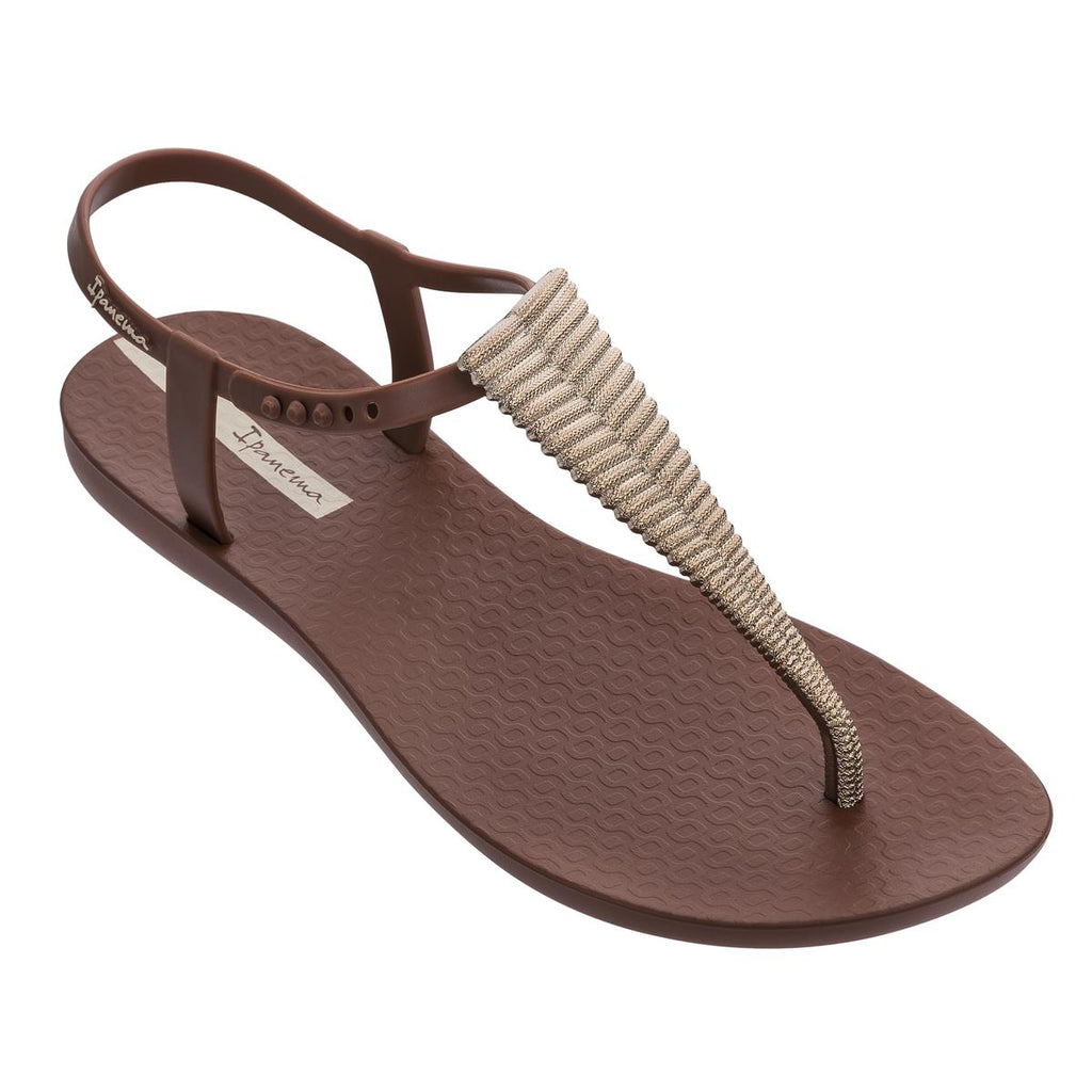 Ipanema Trimmed Sandal - Brown Bronze