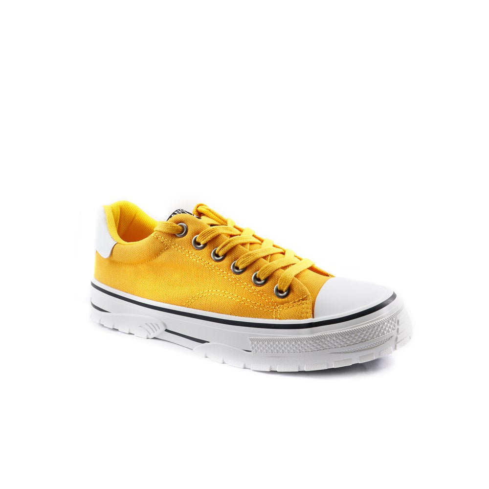 Kangol Mustard Lace Up Sneaker