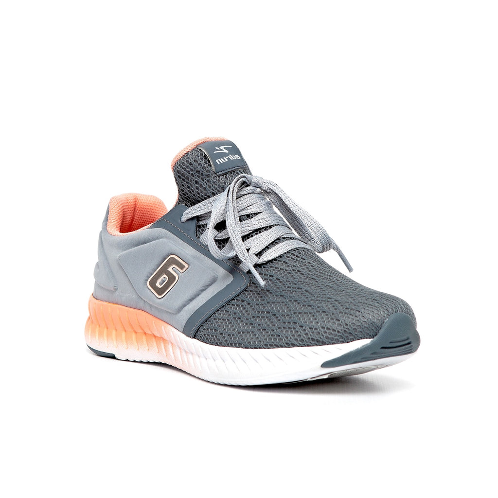 Adrun Lace Up Mesh Sneaker - Grey