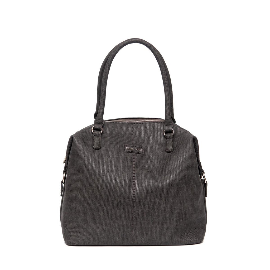 Pierre Cardin Structured Bag - Charcoal