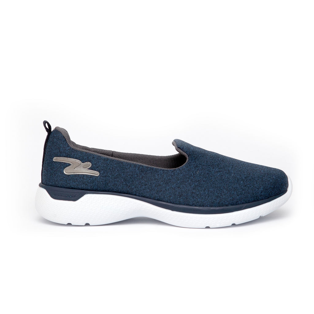 Adrun Slip On Mesh Sneaker - Navy/Grey