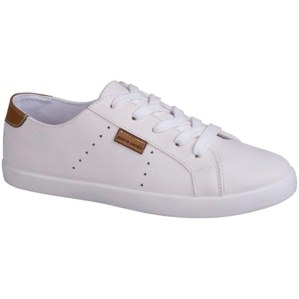 Pierre Cardin Lace Up Sneaker - White