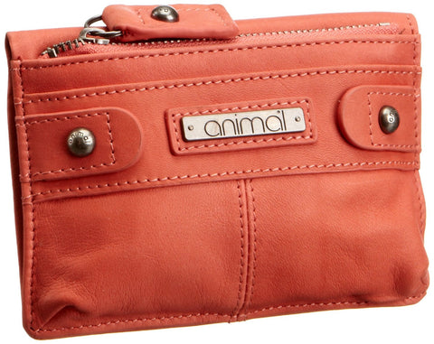 Animal Ladies Nahla Leather Wallet - Rose