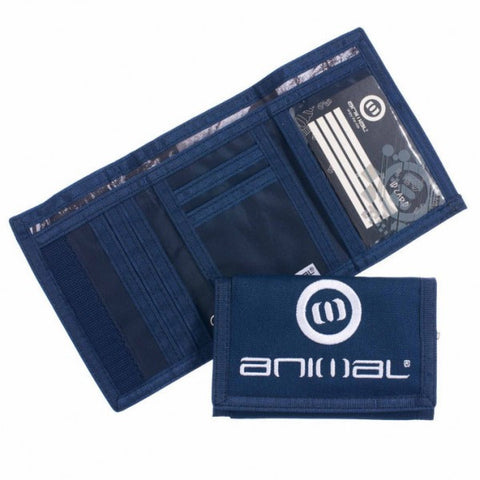 Animal Mens Amplifier 2 Leaf Wallet