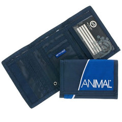 Animal Mens Bondo 3 Leaf Wallet