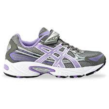 Asics Infant Girls Pre Galaxy Velcro Trainers