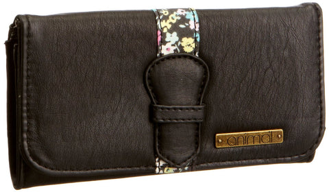 Animal Women's Mola Leather Black Purse