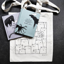 Load image into Gallery viewer, I just want to go home and read my book. - totebag