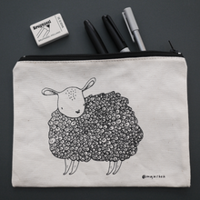"Load image into Gallery viewer, Pouch! ""sheep"""