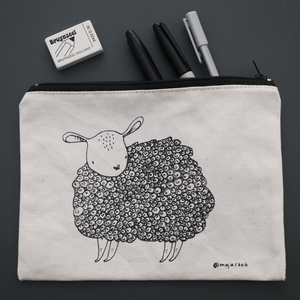 "Pouch! ""sheep"""
