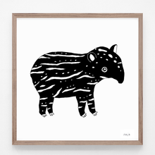 Load image into Gallery viewer, Tapir baby print!