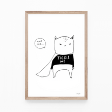 Load image into Gallery viewer, Tickle Me and Die - print