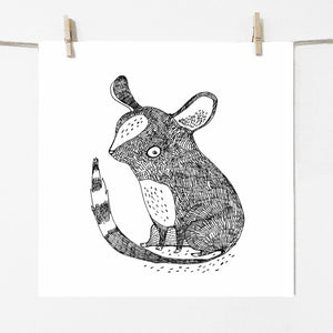 Mouse, print