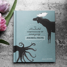 Load image into Gallery viewer, maja säfström, majasbok, animal book, octopus, tenspeed press, book cover, green book, deer, book, animal facts, illustrated book