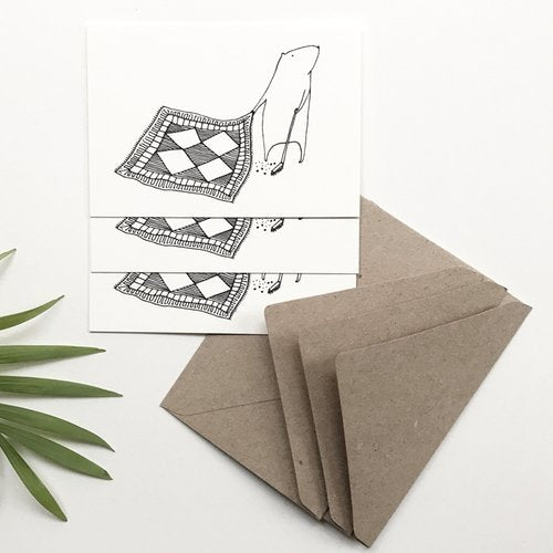Cleaning - Set of 3 Mini Cards