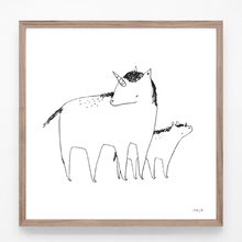 Load image into Gallery viewer, Unicorn Mom - print