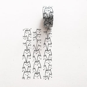 washi tape! cats