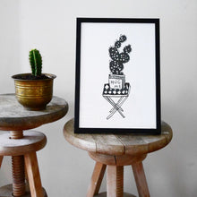 Load image into Gallery viewer, Hug Me Cactus - print