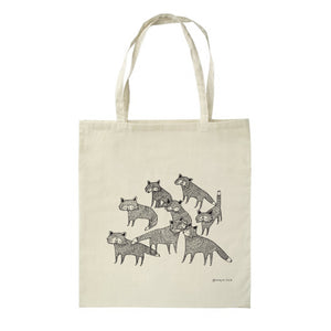 "Tote bag ""Foxes"""