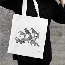 "Load image into Gallery viewer, Tote bag ""Foxes"""