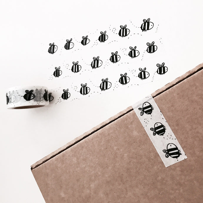 washi tape! bees