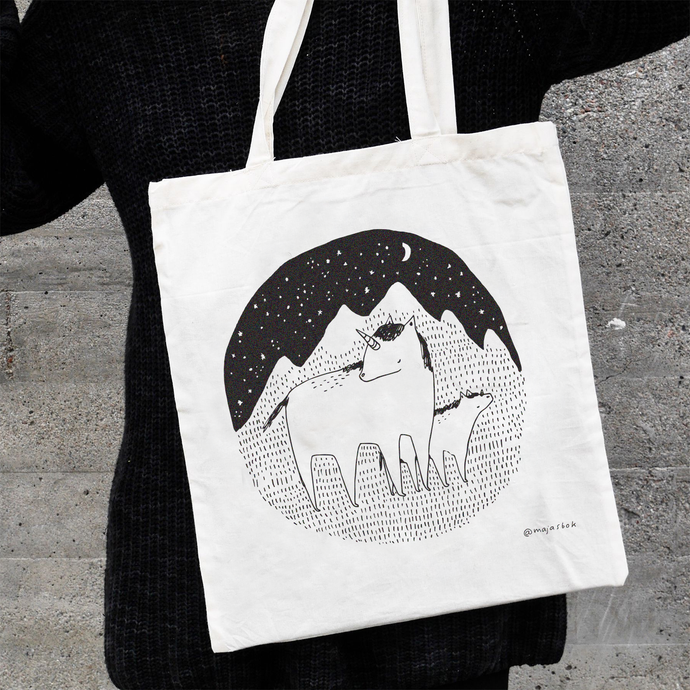 unicorn - totebag