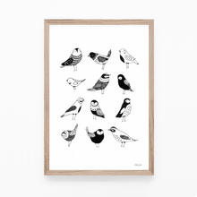Load image into Gallery viewer, Nine Little Birdies - print