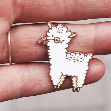 llama pin, cute pin, pin, pin game, enamel pin, pins, pin rose gold, made by cooper, alpaca pin, quote pin, majasbok pin