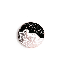 Load image into Gallery viewer, introvert swan - pin!