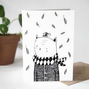 Greeting card - In The Wind