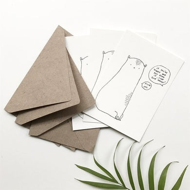 Clap Your Hands - Set of 3 Mini Cards