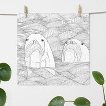 Load image into Gallery viewer, The Walrus - print