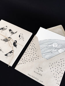 Birds Envelopes - Set of 5