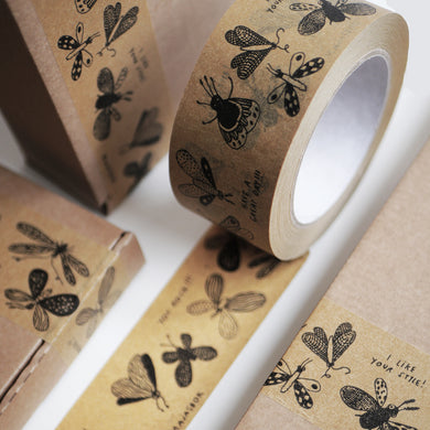 PACKING TAPE . butterflies !