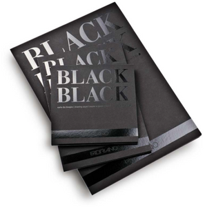 Black drawing paper