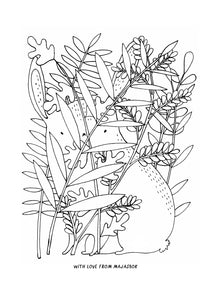 Free downloadable colouring sheets!