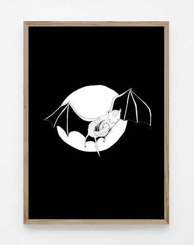 NEW! Bat mom - print
