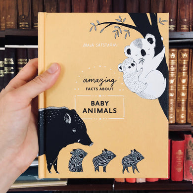 Amazing facts about baby animals - signed + PRINT