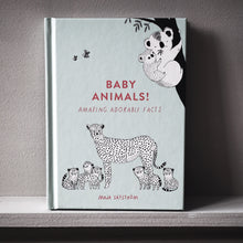 Load image into Gallery viewer, Preorder UK EDITION : Amazing facts about baby animals - signed + PRINT