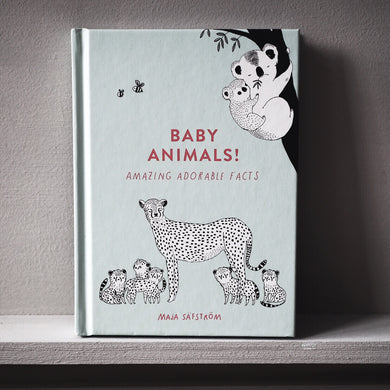 UK EDITION : Amazing facts about baby animals - signed + PRINT